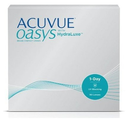 1-DAY Acuvue Oasys with HYDRALUXE 90pk